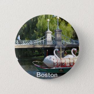 Speld van de Tuin van Boston de Openbare Ronde Button 5,7 Cm
