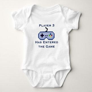 Speler 3 is het Overhemd van de Klimplant van het Romper