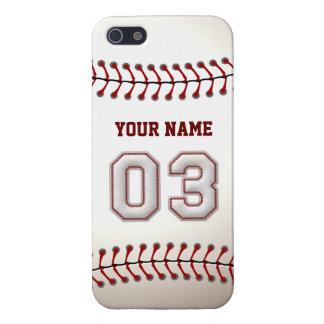Speler Nummer 3 - de Koele Steken van het Honkbal iPhone 5 Hoesje