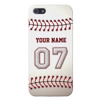 Speler Nummer 7 - de Koele Steken van het Honkbal iPhone 5 Hoesje