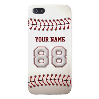 Speler Nummer 88 - de Koele Steken van het Honkbal iPhone 5 Hoesje