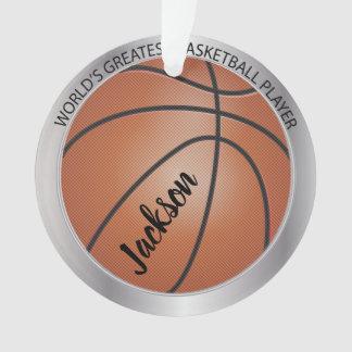 Speler van het Basketbal van de wereld de Grootste Ornament