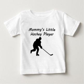 Speler van het Hockey van de mama Weinig Baby T Shirts