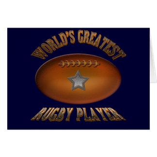 Speler van het Rugby van de wereld de Grootste Kaart