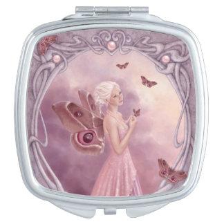 Spiegel van de Fee van Birthstone van de parel de Makeup Spiegels
