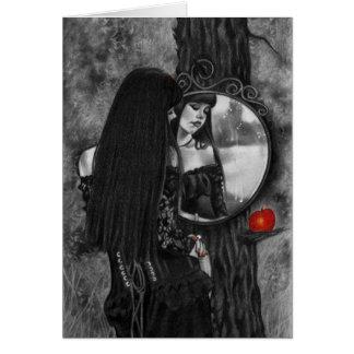 Spiegel van Kaart van het Meisje van de Fantasie