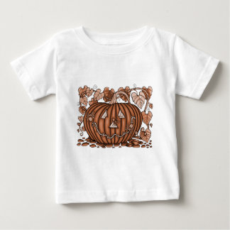 Spinachtige Pompoen 20 Baby T Shirts