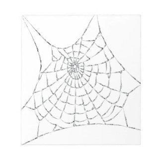 Spinneweb Notitieblok