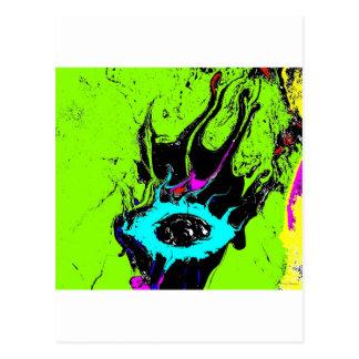 Spion 2 van het oog wens kaart