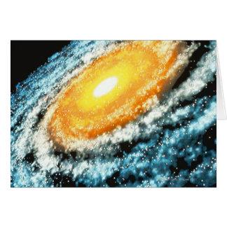 Spiraalvormige Melkweg 4 Briefkaarten 0