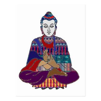 Spiritual NVN659 van de Leraar van het Boeddhisme Briefkaart