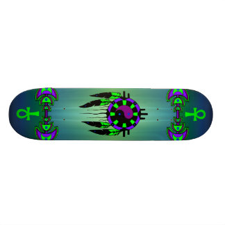 Spiritueel Magisch Aangepast Skateboard -