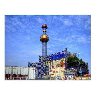 Spittelau, Wenen Oostenrijk Briefkaart