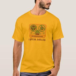 Spoel om het Analoge Apparaat van de Bandrecorder T Shirt