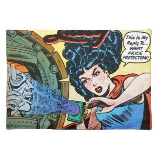 Spook Dame -- Meest gemiddelde Man in de Wereld Placemat