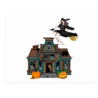 Spookhuis Briefkaart