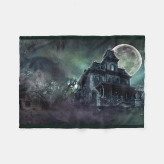 Spookhuis Fleece Deken