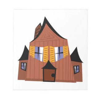 Spookhuis Kladblok