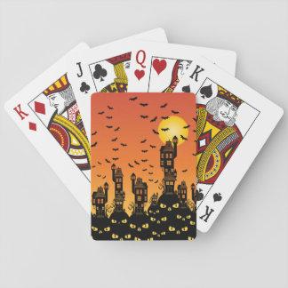 Spookhuis Pokerkaarten