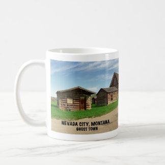 Spookstad: De Stad van Nevada, Montana Koffiemok
