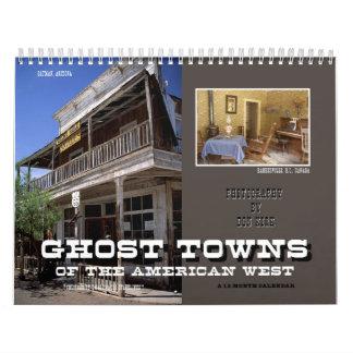 Spooksteden van het Amerikaanse Westen Kalender