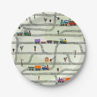 Spoorweg Papieren Bordje