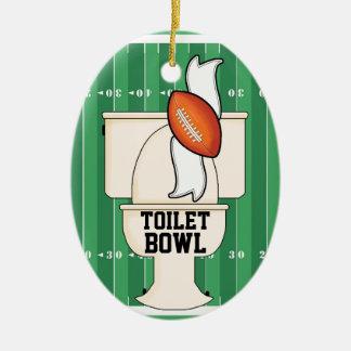 Sporten - de KOM van het Toilet Keramisch Ovaal Ornament