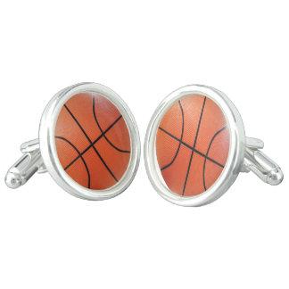 Sportieve Cufflinks van het Basketbal Manchetknopen