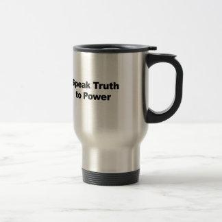 Spreek Waarheid aan Macht Reisbeker