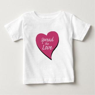 Spreid de Liefde uit Baby T Shirts