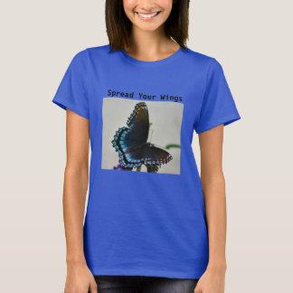 Spreid Uw T-shirt van Vleugels uit