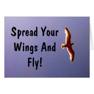 Spreid Uw Wenskaart van Vleugels uit