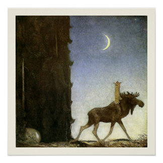 Spring de Elanden en de Prinses Tuvstarr door John Poster