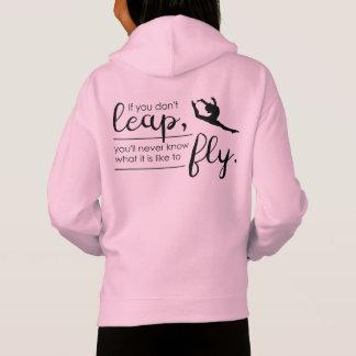 Spring een Gymnast/Danser 's Inspirerend Hoodie