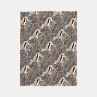 Springbok Fleece Deken