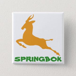 Springbok Vierkante Button 5,1 Cm