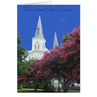Sprintime in New Orleans Briefkaarten 0