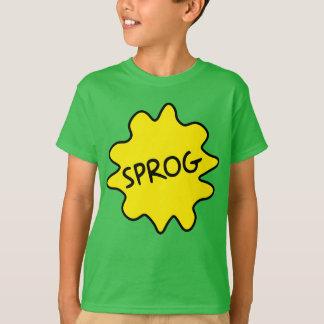 Sprog, het T-shirt van de Britse Kinderen van het