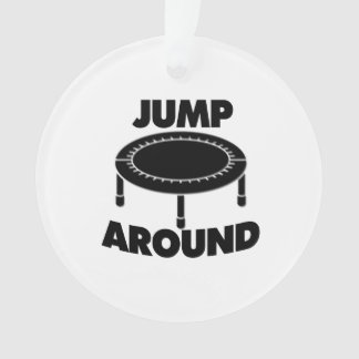 Sprong rond Trampoline Ornament
