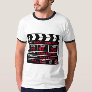 Spruit van de T-shirt van de Lei van de Camera van