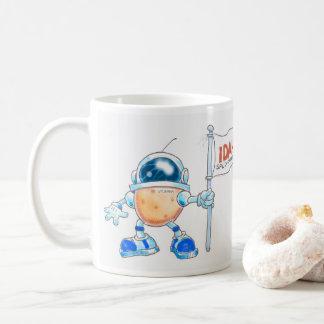 Spudnik eist de Maan voor Idaho! Koffiemok