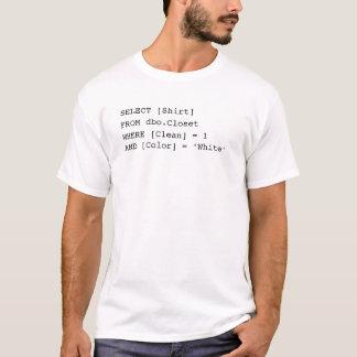 SQL Overhemd T Shirt