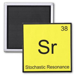SR - het Stochastische T-shirt van het Element van Koelkast Magneetjes