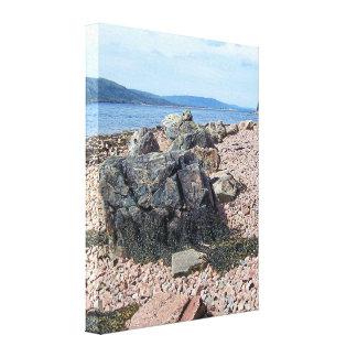 St. Anne Baai, Kaap Breton, het Canvas van Nova Sc
