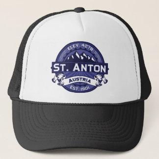 St. Anton de Middernacht van het Logo Trucker Pet