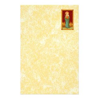 "St. Apollonia (VVP 001) 5.5 "" x8.5"" Vert #1b Briefpapier"
