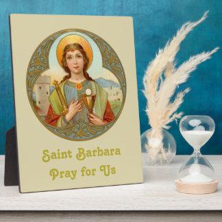 """St. Barbara (BK 001) 8 """" x10 """" Fotoplaat"""