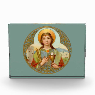 St. Barbara (BK 001) Horizontale Presse-papier of Prijs