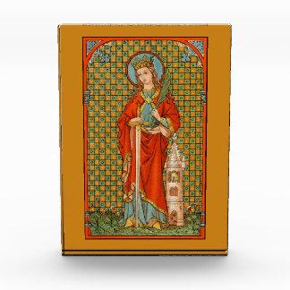 St. Barbara (JP 01) Achthoekige Presse-papier of Prijs