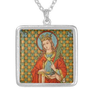 St. Barbara (JP 01) Zilver Vergulden Ketting